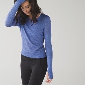 Lululemon Breeze by long sleeve top - size Small